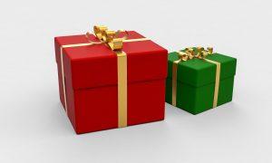 מתנה ירוקה מתנה אדומה